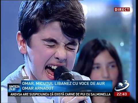 Omar Arnaout - Who's loving you (live on TV show)