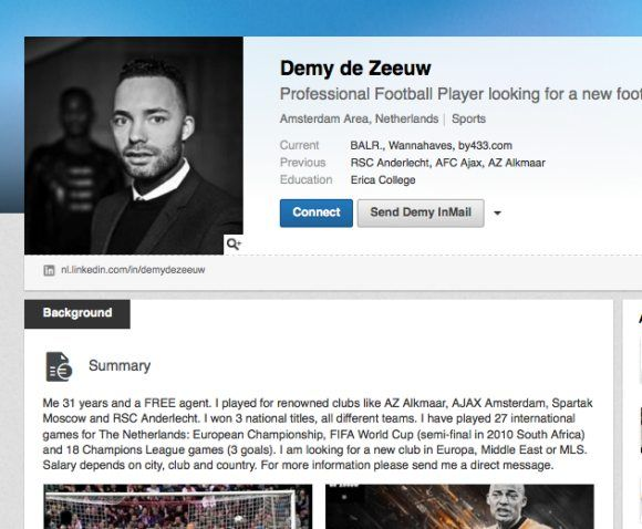 What club do you think Demy de Zeeuw should play for?