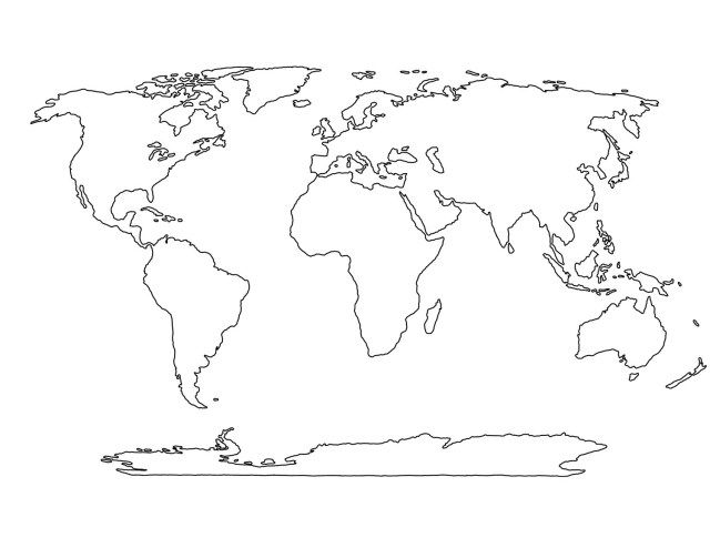 Great Image Of Continents Coloring Page Entitlementtrap Com Blank World Map World Map Coloring Page World Map Stencil