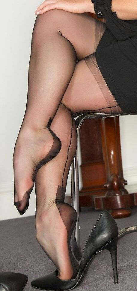 Was Pretty sandals and pantyhose sex seems me