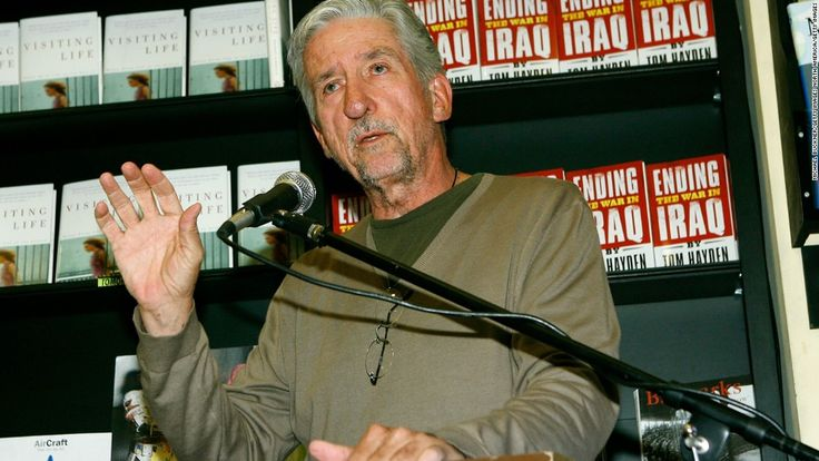 The death of Tom Hayden -- the iconic anti-war and civil rights activist, who was perhaps the most recognizable face of the New Left in the 1960s -- represents a great loss to all who believe in social justice, writes Peniel Joseph.