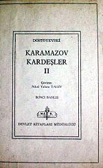 MUSIC AND ART: Karamazov Kardeşler Karamazov Kardeşler (Rusça: Братья Карамазовы, Bratya Karamazovy), Rus yazar Dostoyevski'nin romanıdır. Dostoyevski'nin hayatının zirve romanı olarak bilinir. Romanın büyük bir bölümü Staraya Russa'da yazılmıştır. Dostoyevski, oldukça ağır bir dili olan roman için iki yıla yakın zaman harcamış ve 1880 yılının Kasım ayında bitirmiştir. Kitabın yayımlanmasından yaklaşık dört ay sonra yine bu kitap için hazırladığı büyük çaplı bir proje olan Büyük Bir