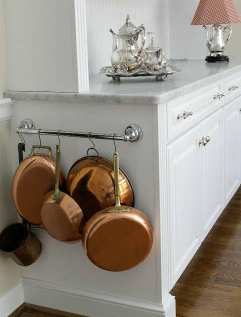 17 best ideas about hanging pots kitchen on pinterest hanging pots pot rack hanging and. Black Bedroom Furniture Sets. Home Design Ideas