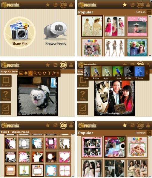 PicMix, Aplikasi Foto Lokal yang Lebih Keren dari