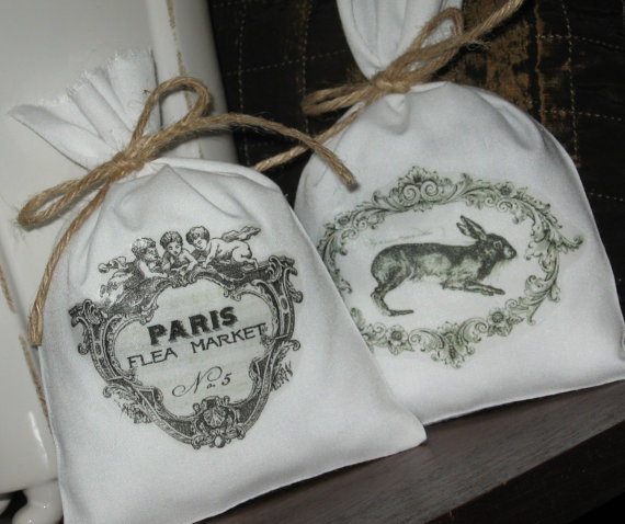 French Lavender Sachets Shower Gifts French by AbundantHaven, $14.75
