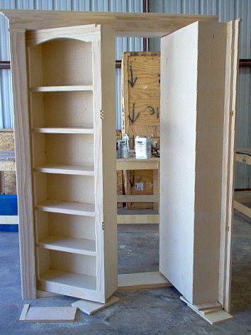 Скрыть дверь - секретные двери и проходы - Галерея 37
