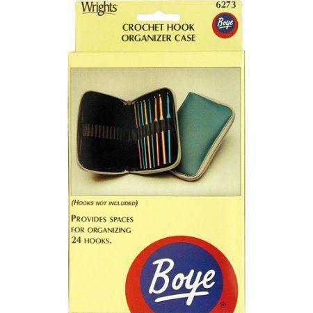 """Boye Crochet Hook Case, 4"""" x 7"""""""