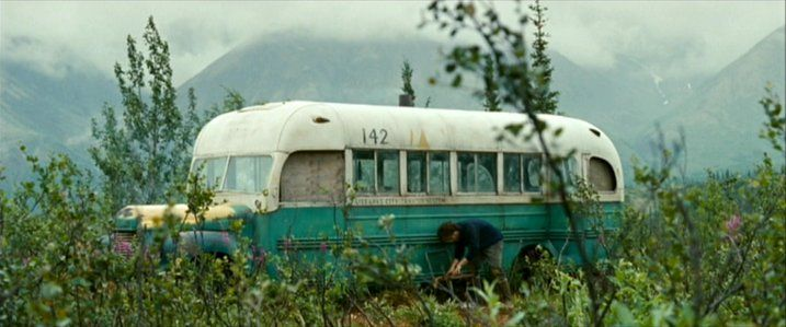 I don't know why but I want to see the Into the Wild bus!