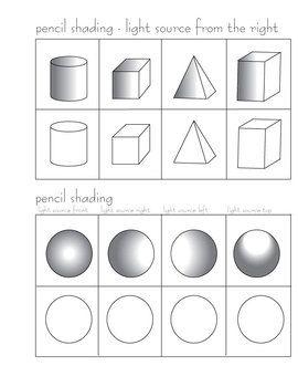 Pencil Shading Activity