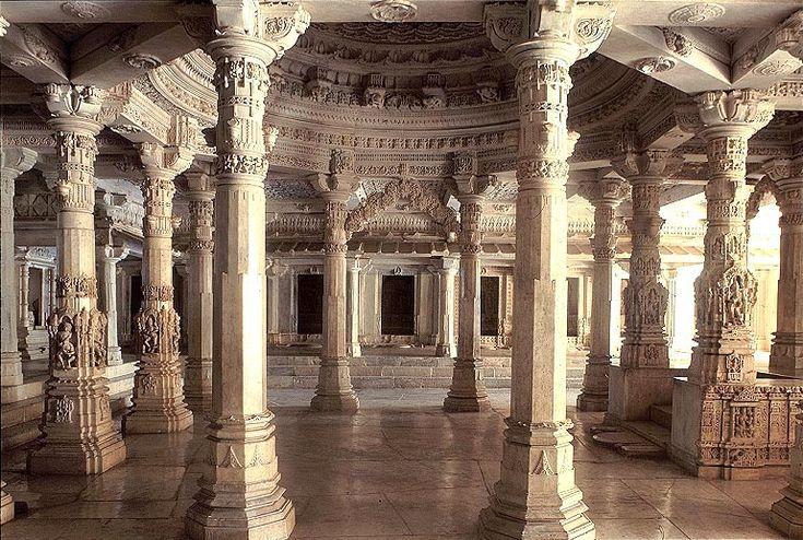 Mahavira Temple of Jainism, Kumbharia, India, 1062