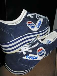 REMEMBER WHEN............oh my god......1970 Pepsi Shoes