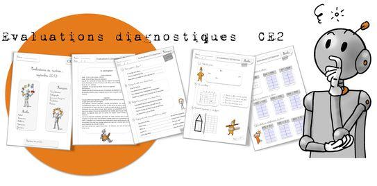 Evaluations diagnostiques  CE2