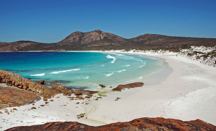 Cape Le Grande Beaches, Australia    Beaches in the Cape Le Grande include Lucky Bay, Rossiter Bay, Hellfire Bay, Le Grande Beach, and Thistle Cove.