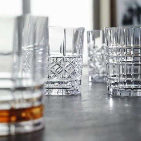 Highland Whisky Tumbler Set of 4 Assorted by Nachtmann