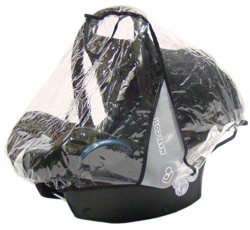 From 9.95 Baby Travel Carseat Rain Cover For Maxi Cosi Cabrio And Pebble Family Fix