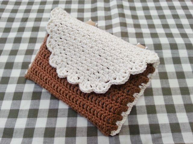 かぎ針編みで☆移動ポケットの作り方|編み物|編み物・手芸・ソーイング|ハンドメイドカテゴリ|アトリエ