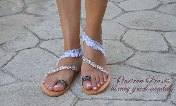 Bridal SandalsRodosDecorated Sandals with