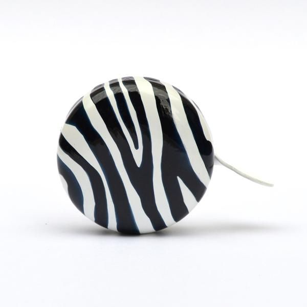 ZEBRA bicycle bell, bike bell design, bicycle art, cycle chic