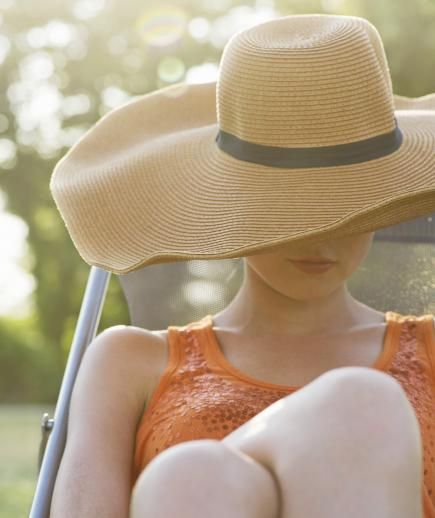 """Protect your skin from the sun. 