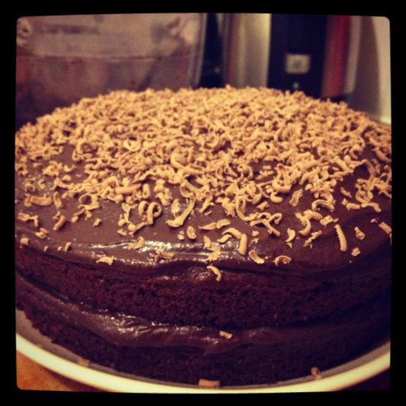 Harry Eastwood's Sweet Potato chocolate cake
