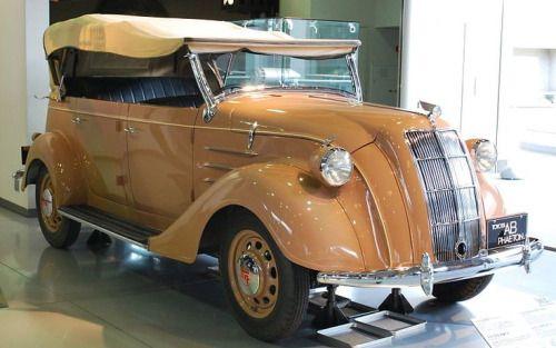 toyota AB Phaeton, 1936.