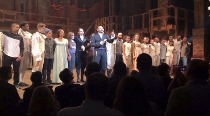 Trump demands apology from 'Hamilton' after cast's message to Pence - The Washington Post