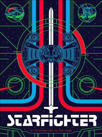 Product Placement Posters from The Last Starfighter, Akira, Gremlins and more
