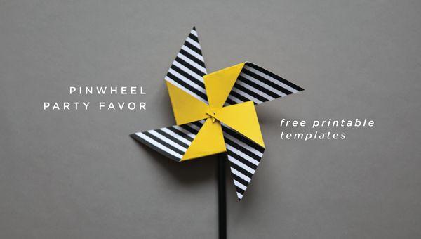 pinwheels printable