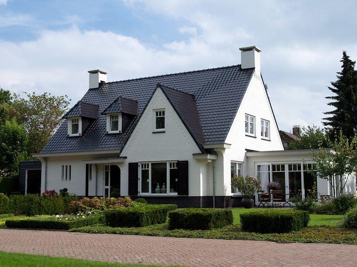 wit huis dakpan - Google zoeken