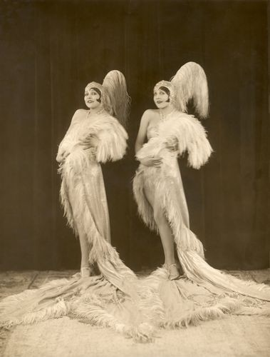 The Dodge Sisters (Betty Dodge; Beth Dodge)  by Bassano (1927)