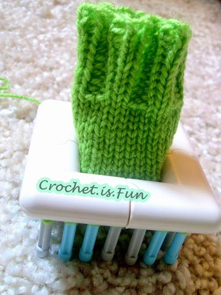 Crochet Fun Baby Socks Loom