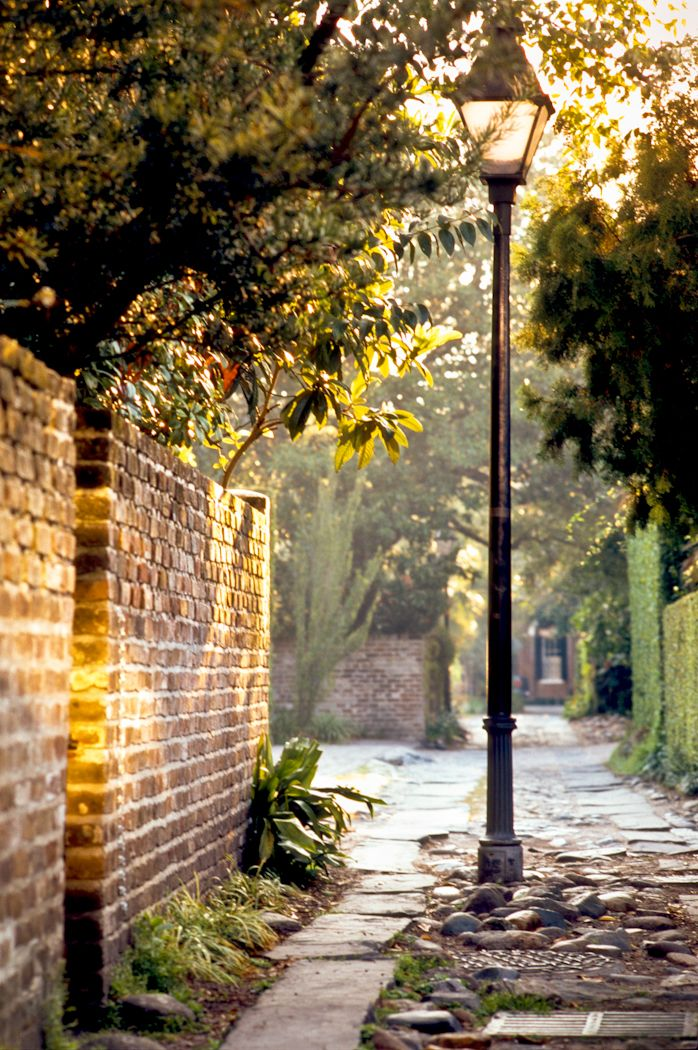 Morning Alleyway, Charleston, SC © Doug Hickok All Rights Reserved More here… hue and eye