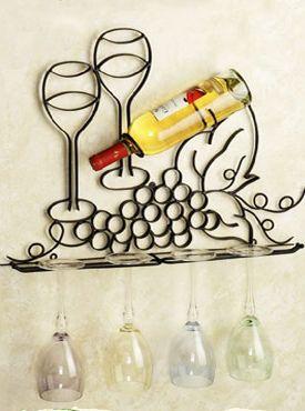 Cool Iron Wine Racks