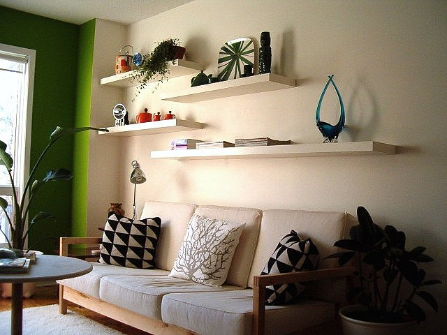 shelving ideas for living room walls   My Web Value