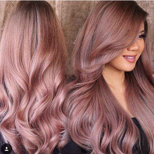 Résultats de recherche d'images pour « rose gold hair »