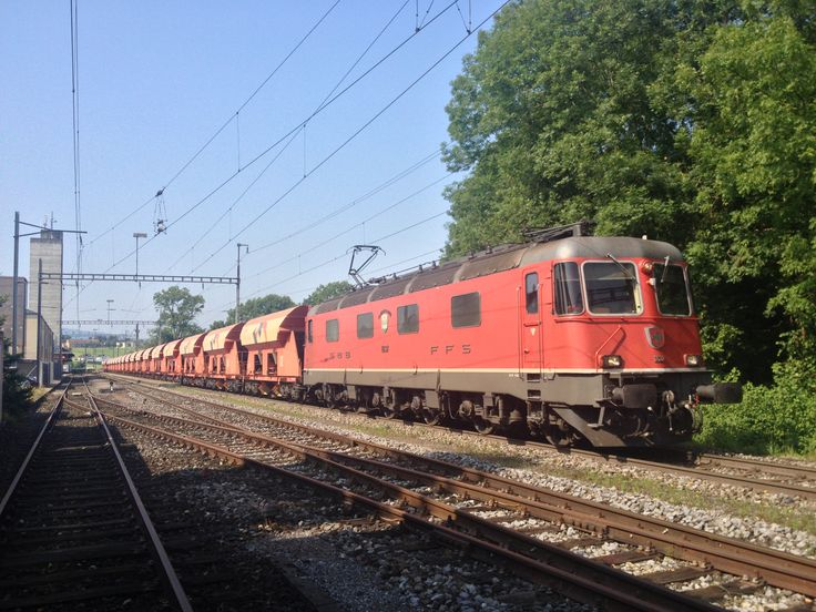 SBB Swiss Railway Re 6/6 in Egnach