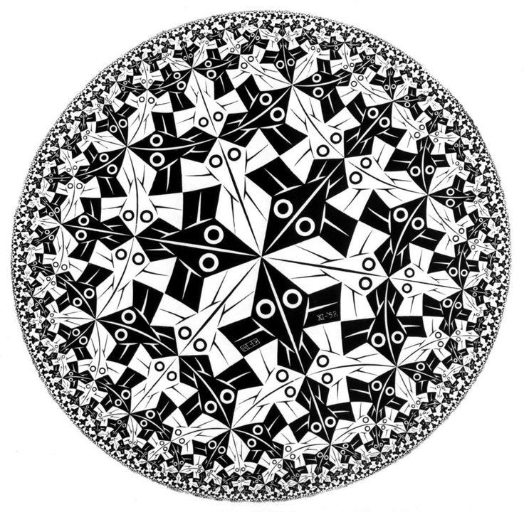 M.C. Escher's Circle Limit 1