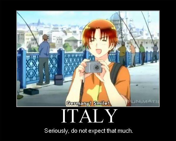 Hetalia ~~ Italy has a camera that Japan loaned him. Hmm.....
