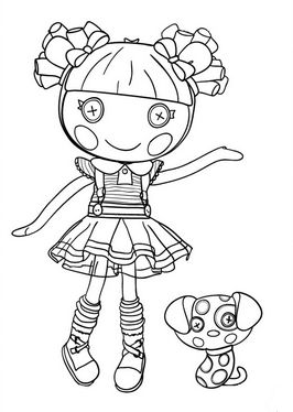 lalaloopsy babies coloring pages - photo#13