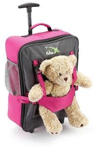 Cabin Max Bear Childrens luggage carry on trolley suitcase - Pink | eBay