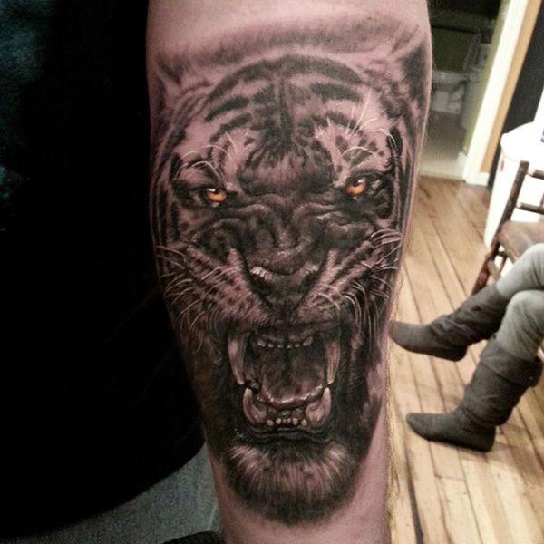 6 tiger tattoo