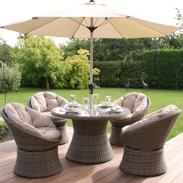 set intended picture rattan garden furniture 4 seater