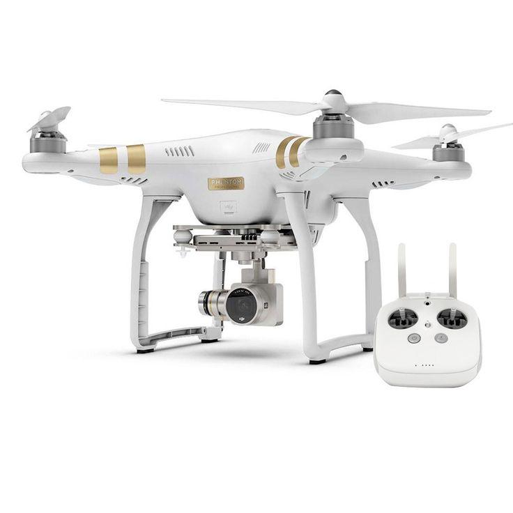 DJI Phantom 3 Professional  Normal-sized quadcopter met 4K HD video-camera.  EUR 899.00  Meer informatie