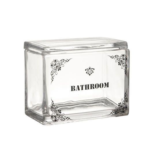 Contenitore vetro Bathroom