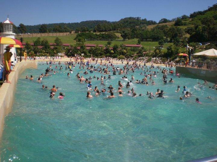 Wave pool at Jamberoo!