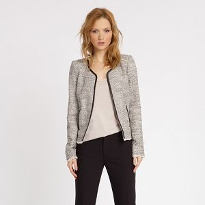 Collarless Jacket | Formal jackets & blazers | Comptoir des Cotonniers