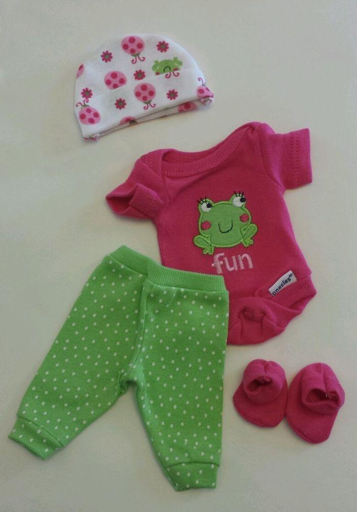 OOAK Baby Doll Clothes Bodysuit Tiny Miracle Mini Reborn ...