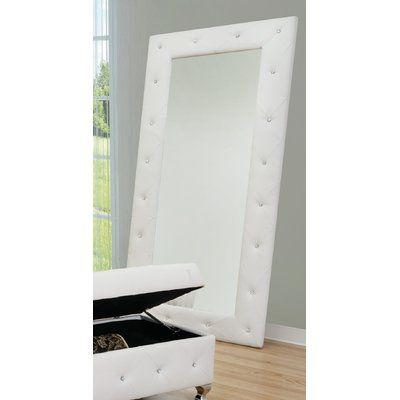 Briar Traditional Full Length Rectangle Floor Mirror