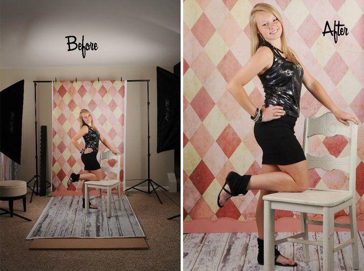 Superior Behind The Scenes At Jen Rinaldi Photographyu0027s Studio With Photo Prop Floors  U0026 Backdrops ...