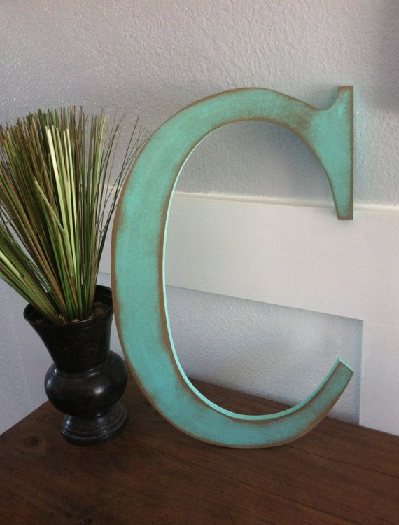 Extra Large 16 Rustic Mint Green Wooden by cedarhollowdesigns, $29.00
